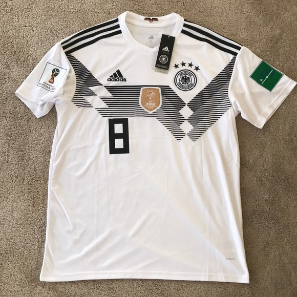 sports shoes eff69 61568 Toni Kroos 2018 FIFA World Cup Germany Jersey XL